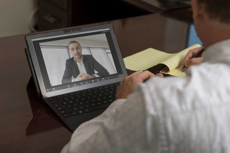 zoom meeting with attorney