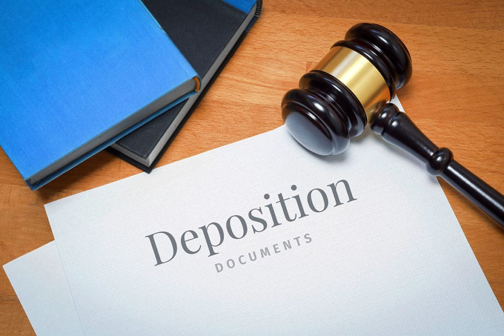Aultman Law informs residents of the Tri Cities what the purpose of a deposition is